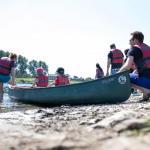 Kano- en wandelexcursie oude Maas