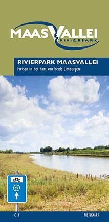 Cover fietskaart RivierPark Maasvallei