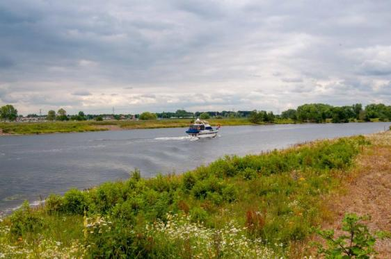 Zeilboot op Maas