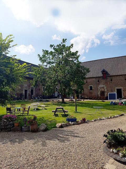 Binnenplaats Hartelstein